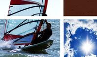 Windsurfing Presentation Template