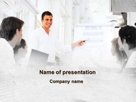 Presentation Of Consultant Presentation Template, Master Slide