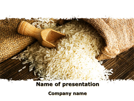 Grains of rice presentation template for powerpoint and keynote grains of rice presentation template master slide toneelgroepblik Choice Image