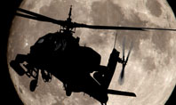 Attack Helicopter AH-64 Apache Presentation Template