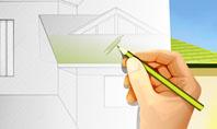 Cottage Construction Chart Presentation Template