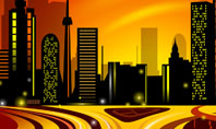 City Landscape Presentation Template