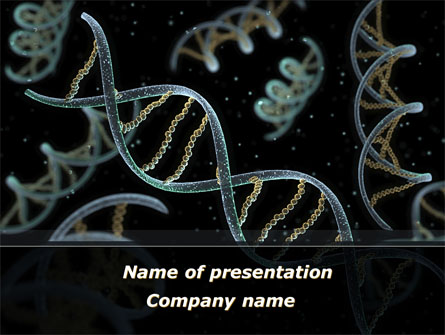 dna helix presentation template for powerpoint and keynote | ppt star, Dna Ppt Template, Powerpoint templates