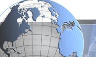 Globe Wired Model Presentation Template