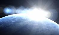 Deep Space Sunrise Presentation Template