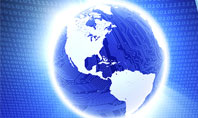 World In A Fingertip Presentation Template