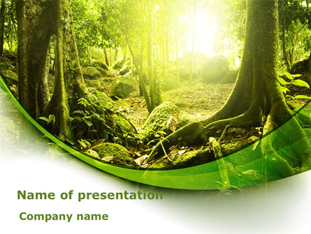 jungle forest presentation template for powerpoint and keynote ppt
