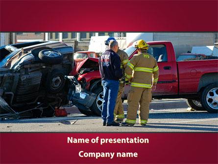 Car Accident Presentation Template, Master Slide