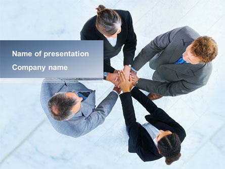 Consensus Presentation Template, Master Slide