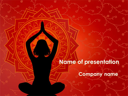 meditation yoga presentation template for powerpoint and keynote, Presentation templates