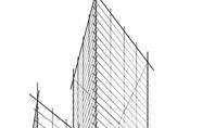 Sketch Of Skyscraper Presentation Template