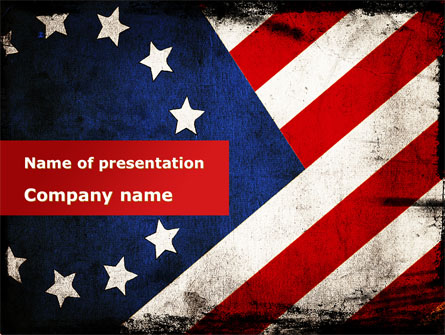 betsy ross flag the first american flag presentation template for