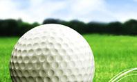 Ball For Golf Presentation Template