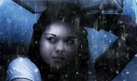 Girl Under The Rain Presentation Template