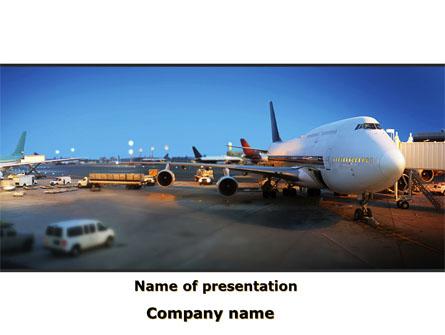 Airport service presentation template for powerpoint and keynote airport service presentation template master slide toneelgroepblik Images