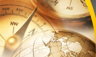 Navigation In Global Business Presentation Template
