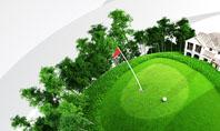 Planet Golf Presentation Template