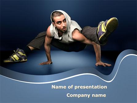 Street Dancer Presentation Template, Master Slide