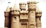 Sand Castle Presentation Template