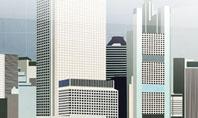 Architectural Plan Of Urban District Presentation Template