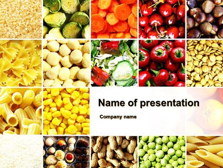 Vegetarian Foods Presentation Template, Master Slide
