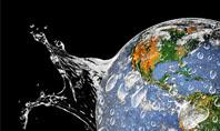 Earth Splash Presentation Template