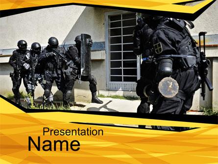 Release of Hostages Presentation Template, Master Slide