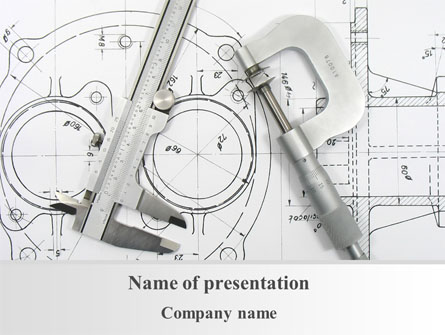 Engineering Project Presentation Template For Powerpoint And Keynote
