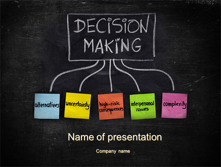 Decision-Making Process Presentation Template for PowerPoint and ...