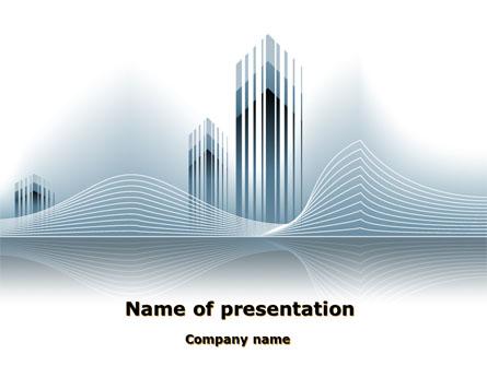 Floating City Presentation Template, Master Slide