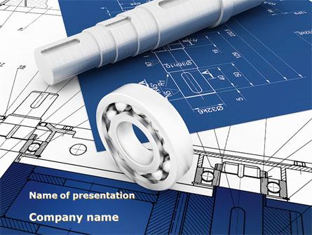 Design Presentation Template, Master Slide