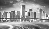 Monochrome City Presentation Template