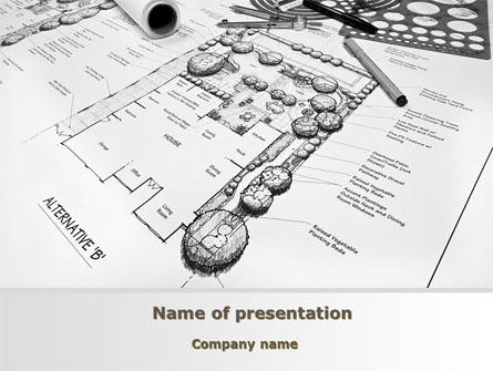 landscape design presentation template master slide