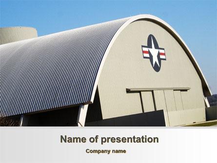 Hangar Presentation Template, Master Slide
