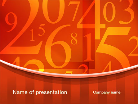 Math numbers presentation template for powerpoint and keynote ppt star math numbers presentation template master slide toneelgroepblik Images
