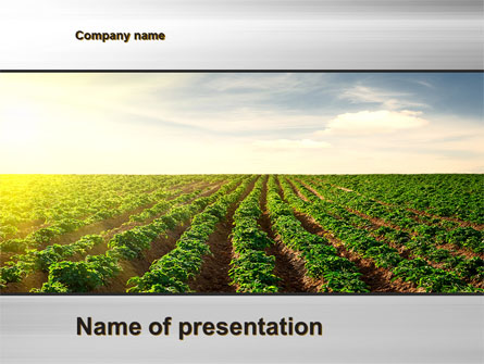 agriculture presentation template for powerpoint and