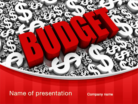 Government Budget Presentation Template For Powerpoint And