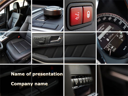Car Interior Design Presentation Template For Powerpoint And Keynote