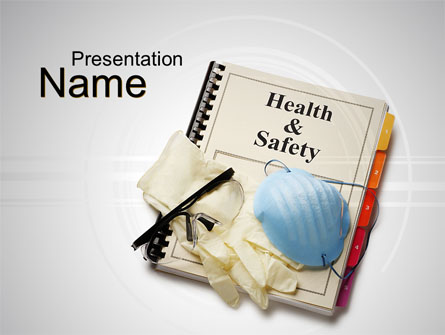 Health And Safety Presentation Template Master Slide