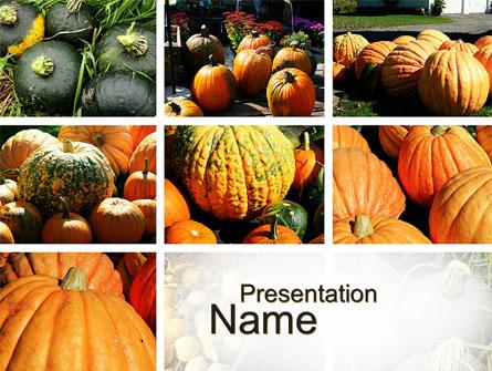 Pumpkin Presentation Template, Master Slide
