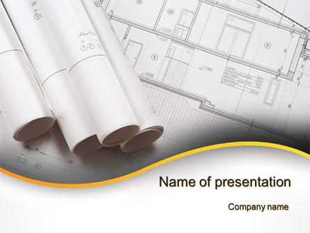 Design Documents Presentation Template, Master Slide