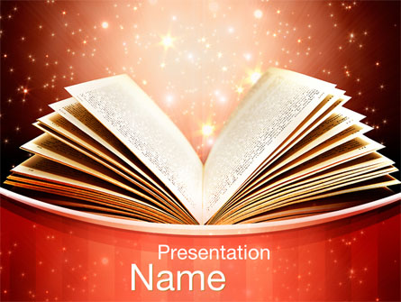 Magic Book Presentation Template for PowerPoint and Keynote | PPT Star
