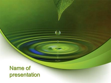 Green water presentation template for powerpoint and keynote ppt star green water presentation template master slide toneelgroepblik Choice Image