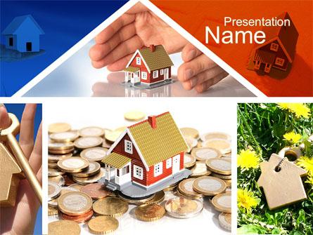 Real Estate Investment Presentation Template, Master Slide