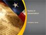 USA Declaration of Independence slide 1