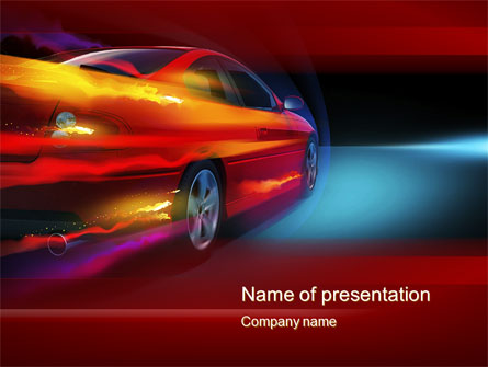 Fast and furious presentation template for powerpoint and for Ford motor company powerpoint template