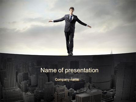 Risk Control Presentation Template, Master Slide