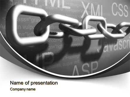 It supply chain presentation template for powerpoint and keynote it supply chain presentation template master slide toneelgroepblik Image collections