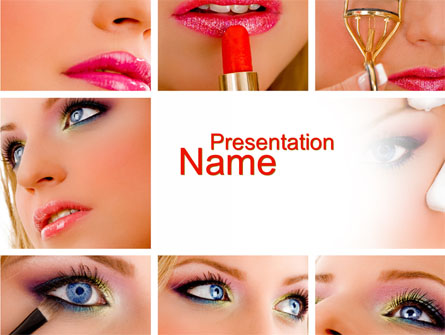 Makeup Presentation Template For Powerpoint And Keynote