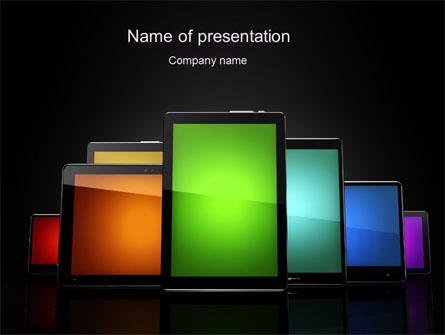 Tablet PCs Presentation Template, Master Slide